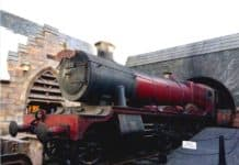 The Hogwarts Express Storyland Studios