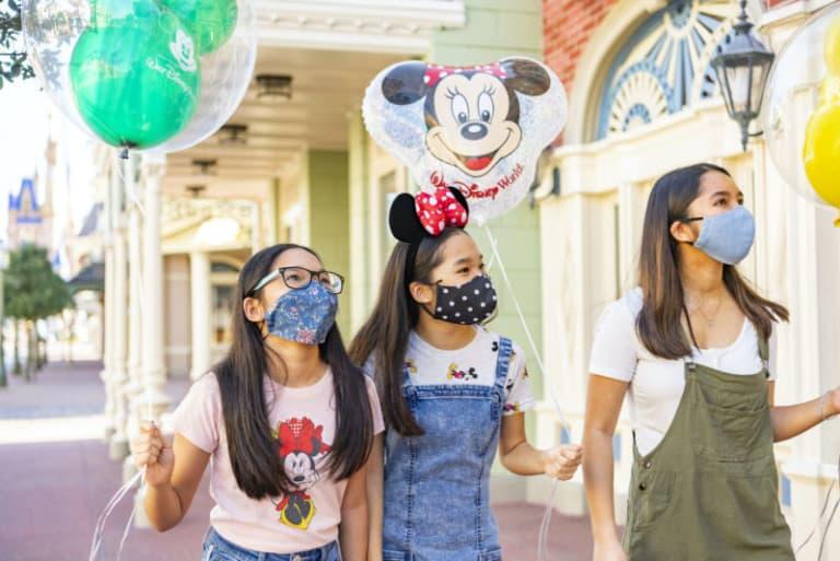 Disney World reopens face masks theme parks coronavirus