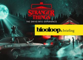 blooloop briefing attractions news stranger things drive thru halloween