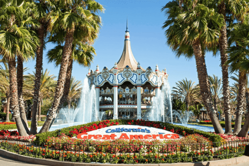 california's great america reopening California theme parks