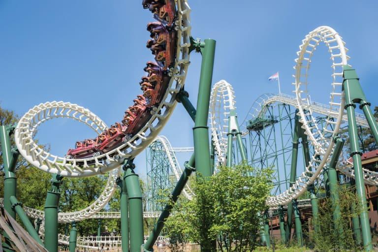 efteling python roller coaster