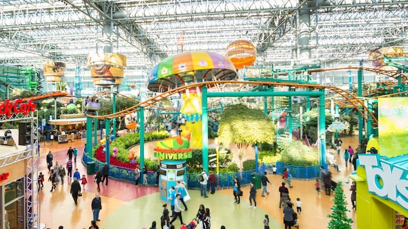 nickelodeon universe mall of america