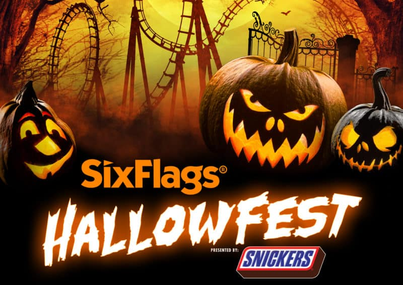 six flags hallowfest halloween COVID 19