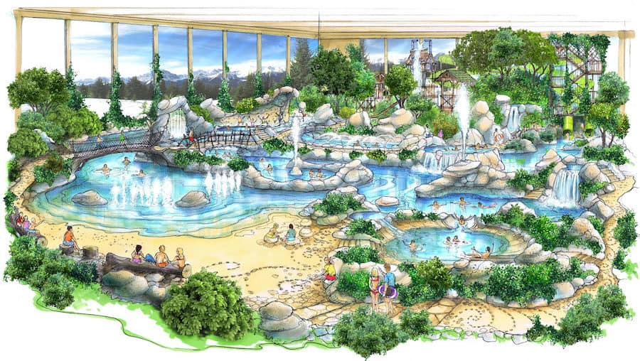 Center parcs River waterplay Michel Linet Frion