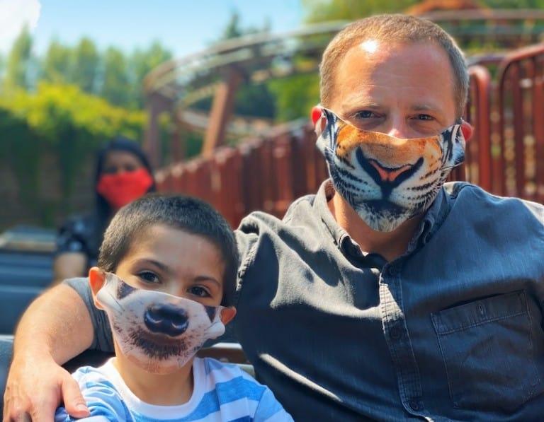 Chessington World of Adventures masks COVID guidance zoos