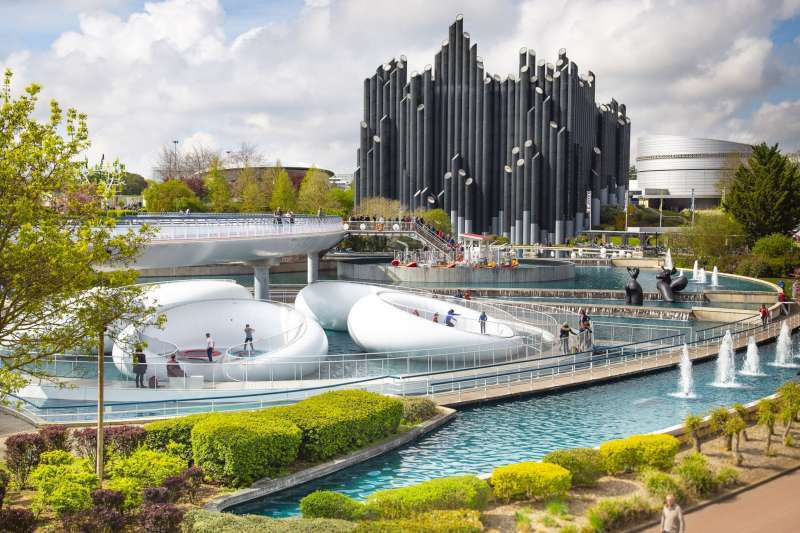 Futuroscope_Futuropolis top theme parks europe