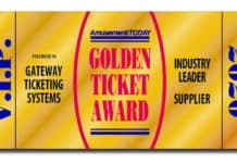 Gateway Ticketing Systems wins Industry Leader Golden Ticket Award