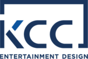 KCC Entertainment Design v-expo logo