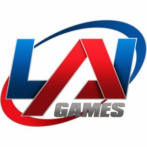 LAI Games logo v-expo
