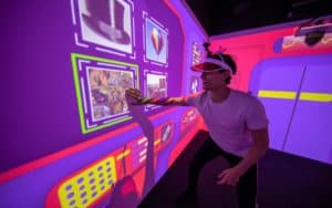 Person playing Electric playbox