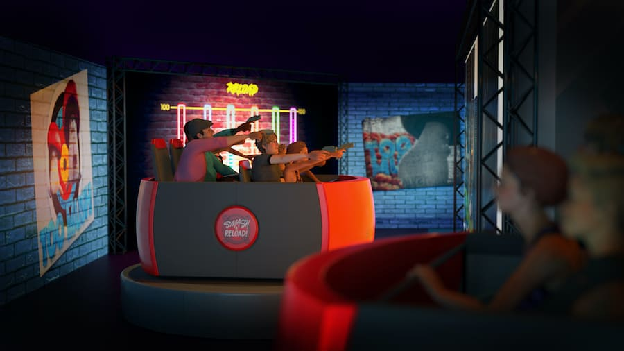 Smash Reload dark ride BoldMove blooloop V-Expo