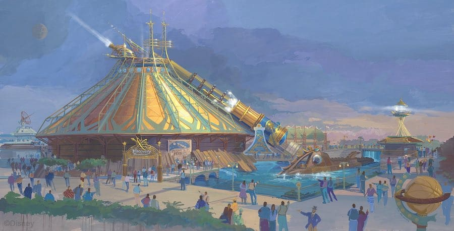 SpaceMountain_Concept art