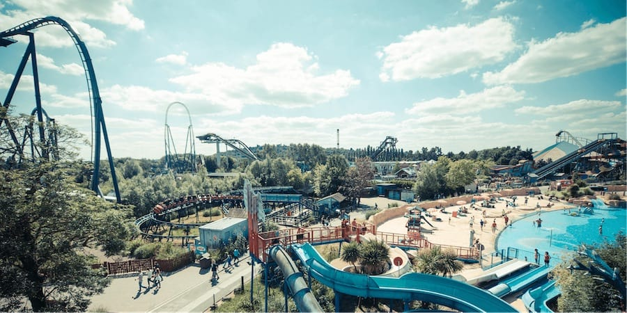 Thorpe Park top theme parks europe