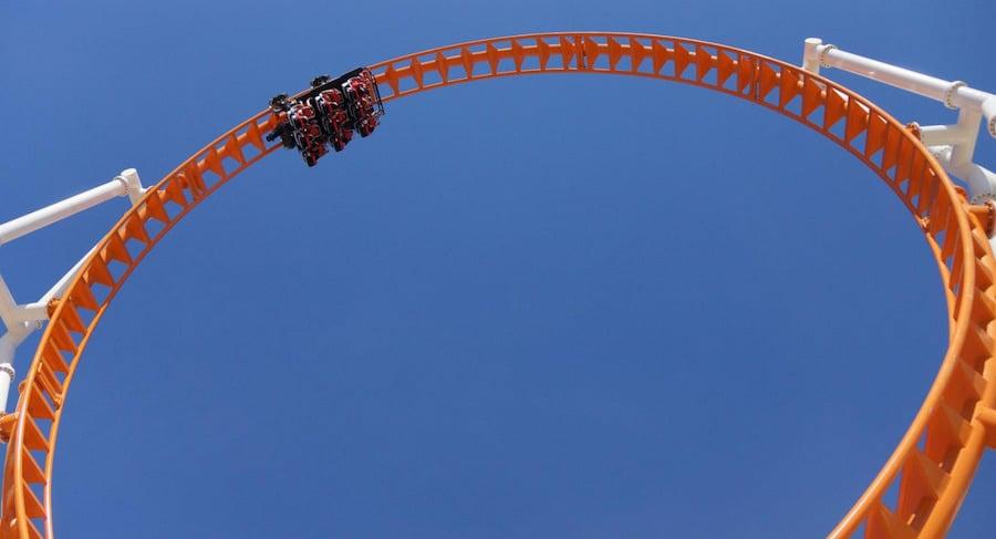Thunderbolt Zamperla Luna Park