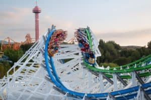 Twisted-Colossus Six Flags Magic Mountain reopening california theme parks