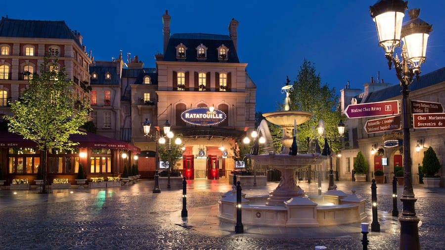 Walt Disney Studios Paris_Ratatouille_Place de Rémy