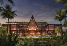 Disney shares first look at entrance for Disney's Polynesian Village Resort