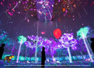 teamLab story of the forest Panasonic