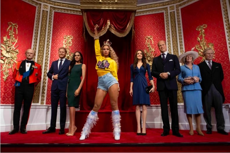 Beyonce Madame Tussauds future attraction trends