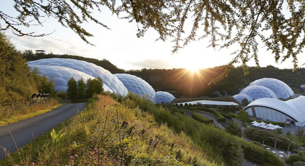 Attractions COVID 19 positives Eden Project