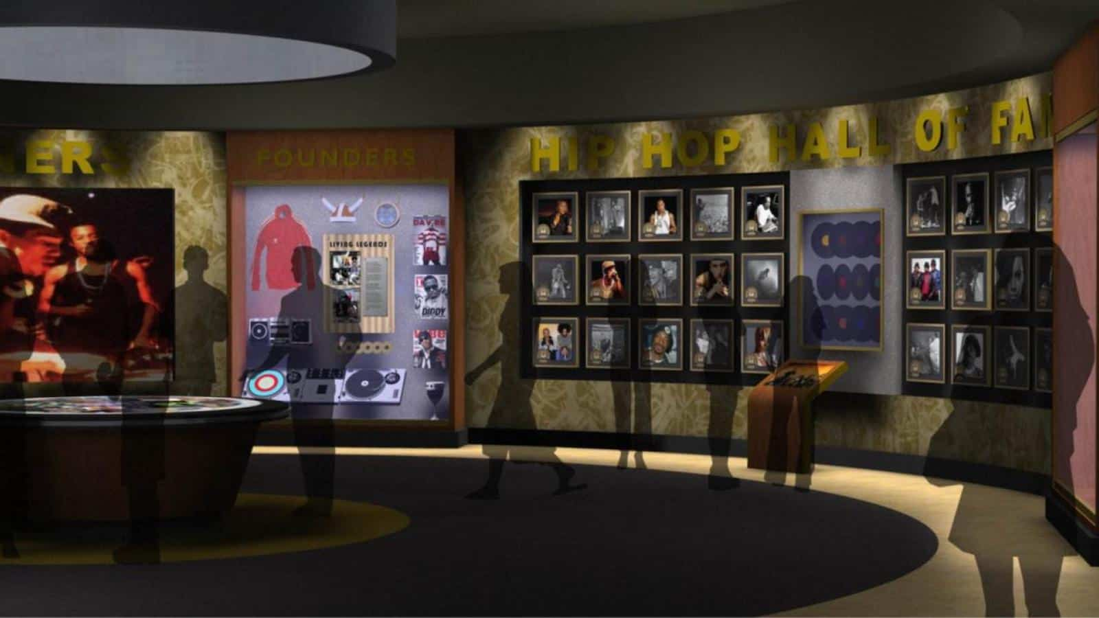 Hip Hop Hall of Fame rendering