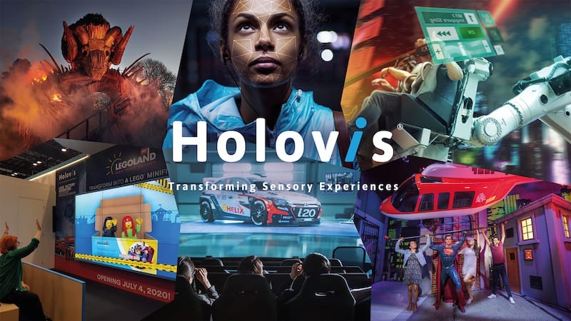 Holovis V-Expo Department for International Trade Richard Parry UK experience economy