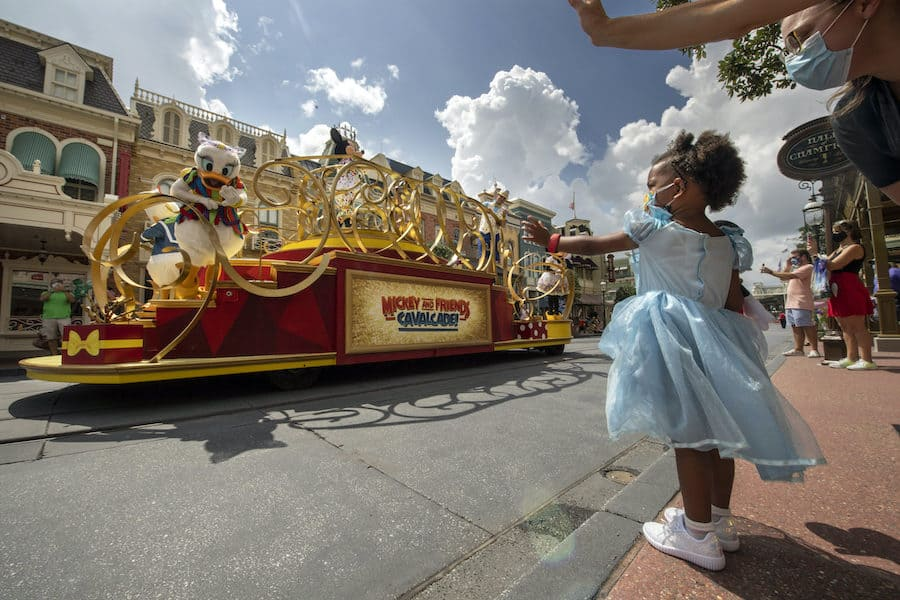 Magic Kingdom Park Reopening socially distant attractions