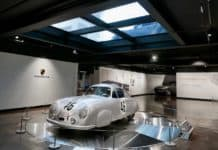 Porsche under glass Sotto Studios