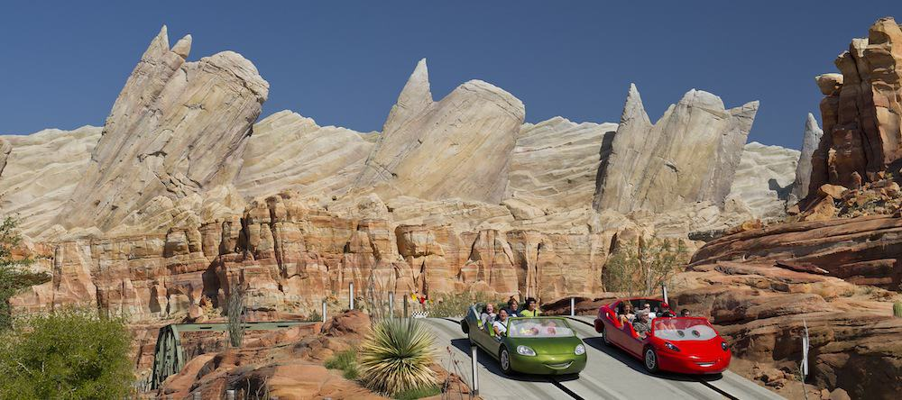 Radiator Springs top theme park attractions