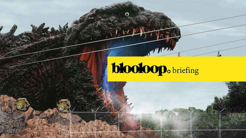 blooloop briefing attractions news godzilla