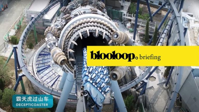 blooloop briefing attractions news decepticoaster universal beijing