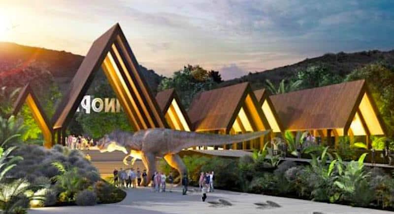 spain dinosaur theme park