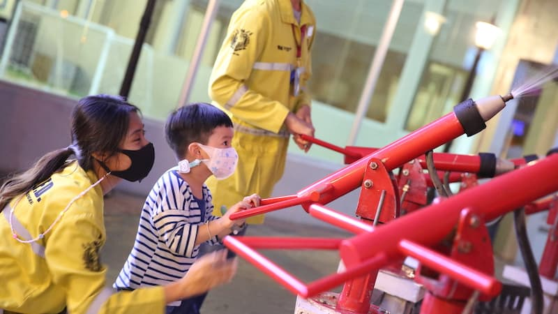 kidzania health and safety