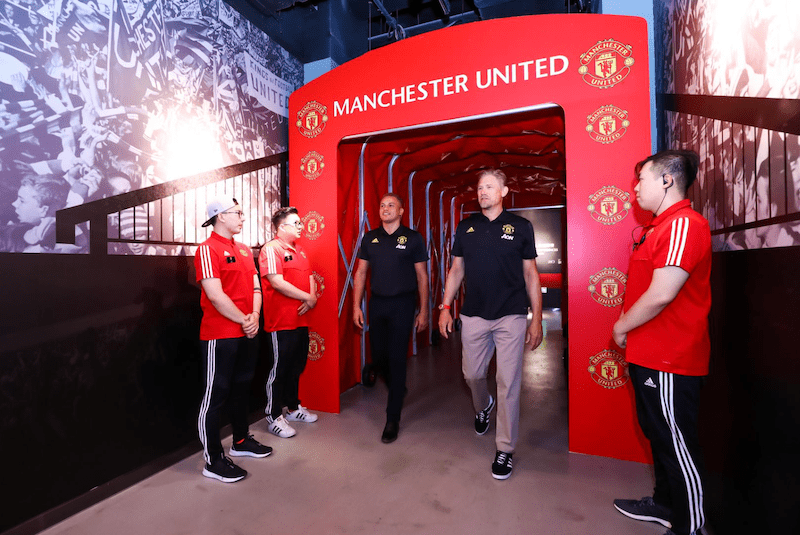 manchester united experience centre china attractions trends 2021