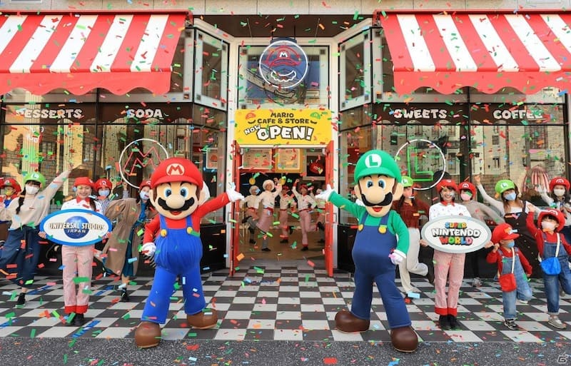 mario cafe and store universal studios japan
