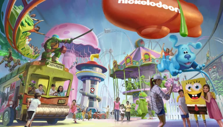 nickelodeon universe american dream