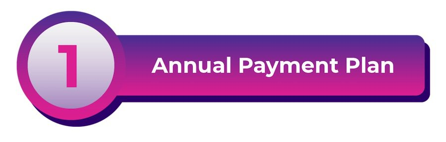HOLOGATE annual payment plan