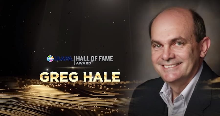 IAAPA Hall of Fame Greg Hale