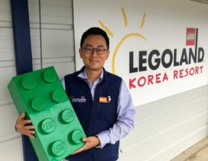 Jay Han, Legoland Korea Show Project Manager