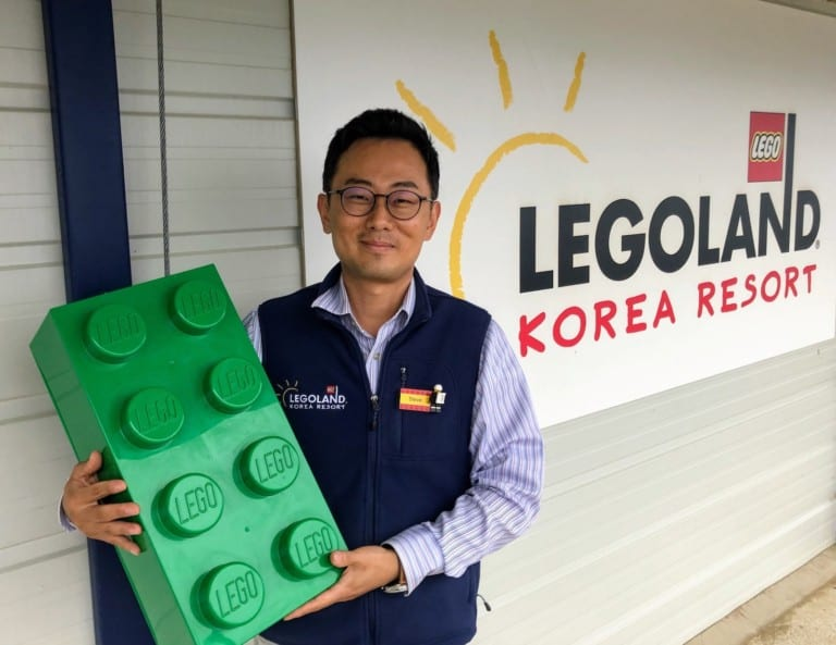 Jay Han, Legoland Korea Show Project Manager