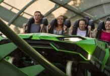 The Incredible Hulk Coaster Universal