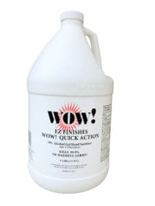 WOW! Quick Action 70% Alcohol Gel Hand Sanitizer