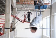 Academy Museum installs only surviving shark model from Jaws