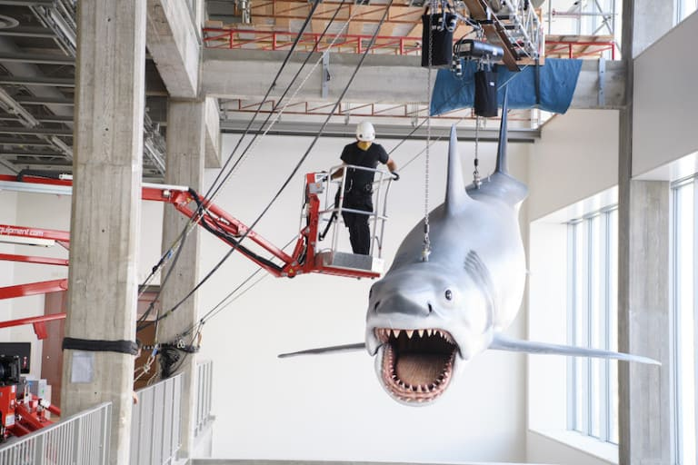 academy museum jaws model