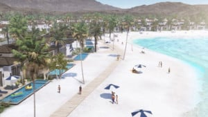 American Wave Machines Thermal Beach Club Palm Springs out of sea surfing