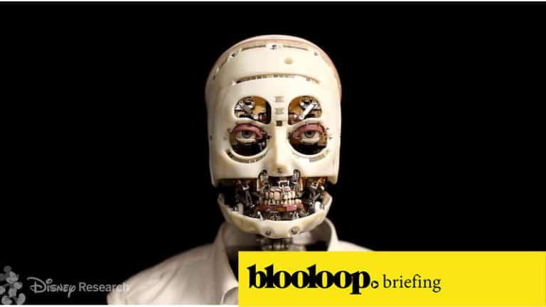 attractions news blooloop briefing disney robots