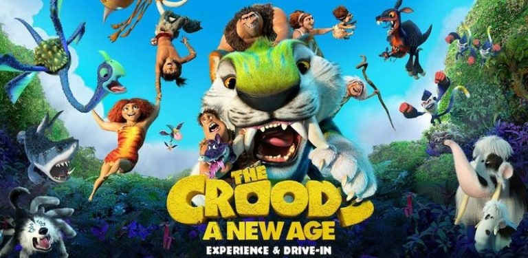croods new age universal citywalk hollywood