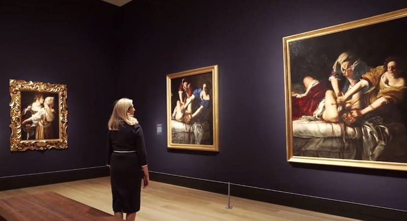 national gallery artemesia online tour
