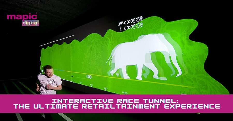 project syntropy interactive race tunnel