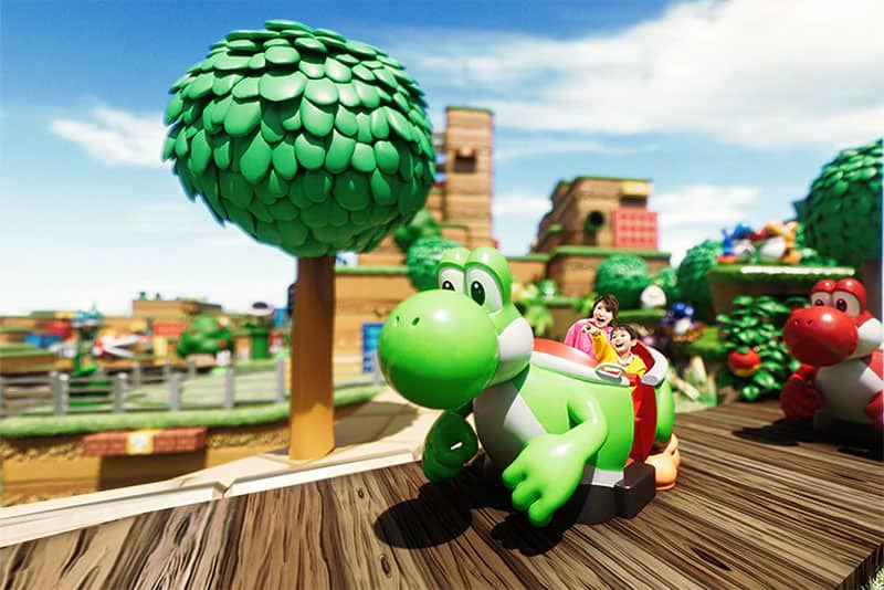 super nintendo world yoshis adventure